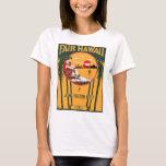 Fair Hawaii Vintage Sheet Music Cover T-Shirt