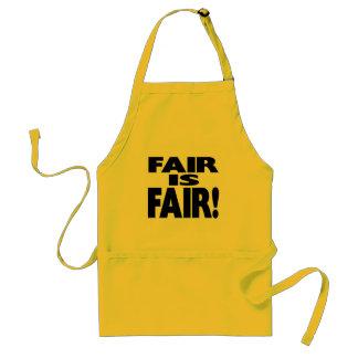 FAIR is FAIR! Adult Apron