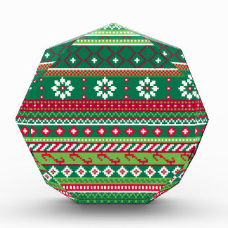 Fair Isle Christmas Pattern Award