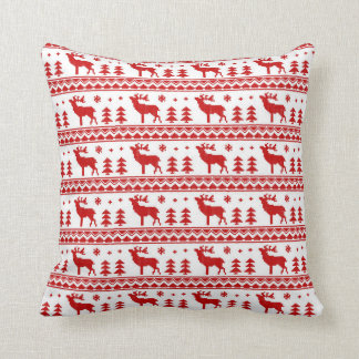 Fair Isle Christmas Sweater Pattern Pillows