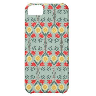 Fair isle fairisle floral pattern rustic chic iPhone 5C cover