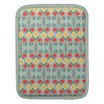Fair isle fairisle floral pattern sleeve sleeves for iPads