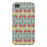 Fair isle fairisle floral retro hipster pattern iPhone 4/4S cover