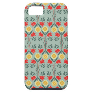Fair isle fairisle floral retro hipster pattern iPhone SE/5/5s case