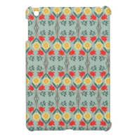 Fair isle fairisle floral rustic chic cute pattern iPad mini cover