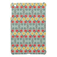 Fair isle fairisle floral rustic chic cute pattern iPad mini cover