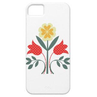 Fair isle floral pattern folk art folkart print iPhone 5 cases