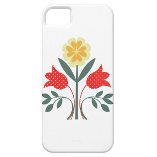 Fair isle floral pattern folk art folkart print iPhone SE/5/5s case