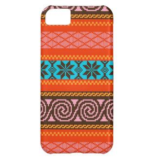 Fair Isle Stripe in Retro iPhone 5C Covers