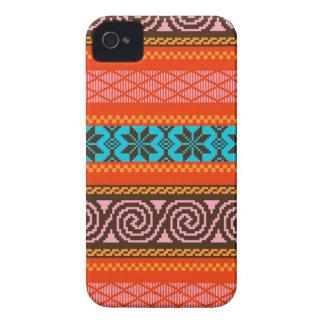 Fair Isle Stripe in Retro iPhone 4 Cover