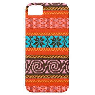 Fair Isle Stripe in Retro iPhone SE/5/5s Case