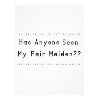 Fair Maiden Letterhead