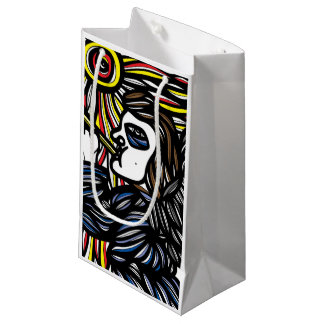 Fair-Minded Emotional Laugh Quiet Small Gift Bag
