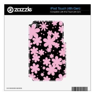 Fair-Minded Loyal Pleasurable Sparkling iPod Touch 4G Decal