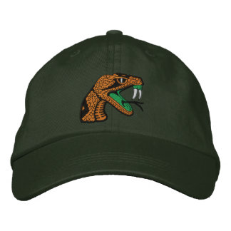 Fair Oaks Rattlers Dark Green Snake Cap