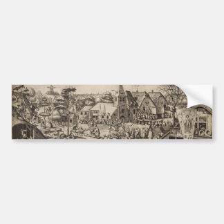 Fair of Saint George's Day by Pieter Bruegel Bumper Sticker