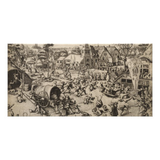 Fair of Saint Georges Day by Pieter Bruegel Card