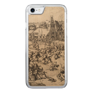 Fair of Saint George's Day by Pieter Bruegel Carved iPhone 7 Case
