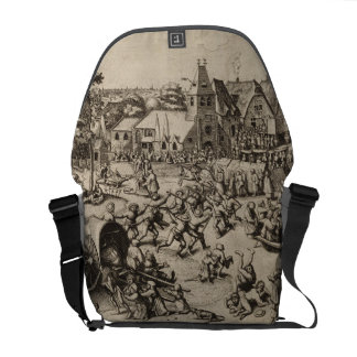 Fair of Saint Georges Day by Pieter Bruegel Courier Bags
