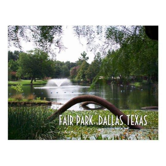 FAIR PARK, DALLAS TEXAS POSTCARD #2