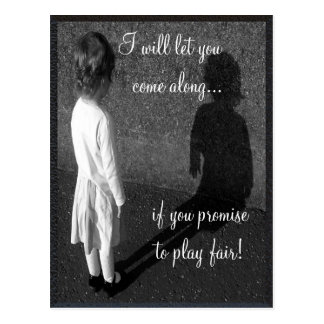 Fair Play  Customizable Postcard
