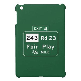 Fair Play, Road Marker, South Carolina, USA iPad Mini Case