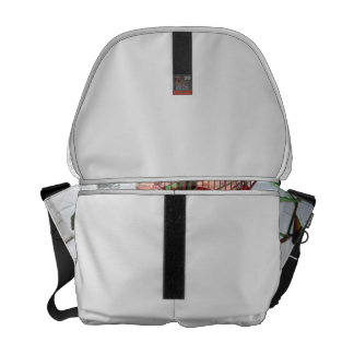 Fair Ride Flying Glider Green and Red Image Commuter Bag