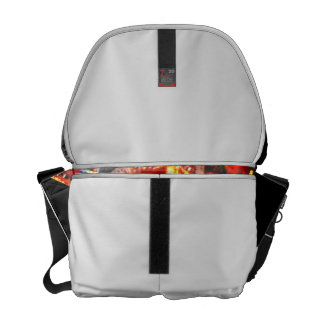 Fair Ride Spinning Colours Red and yellow Commuter Bag