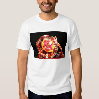 Fair Ride Spinning Colours Red and yellow T Shirt