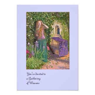 Fair Rosamond in the Bower Card