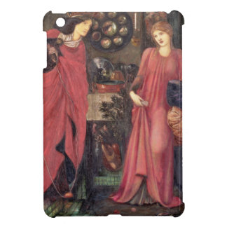 Fair Rosamund and Queen Eleanor (mixed media on pa iPad Mini Cases