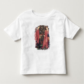 Fair Rosamund and Queen Eleanor (mixed media on pa Toddler T-shirt