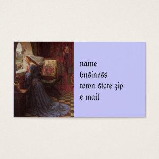Fair Rosamund at the Window Business Card