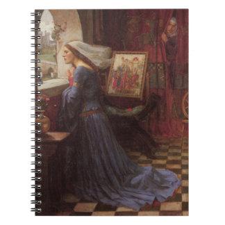 Fair Rosamund at the Window Notebook