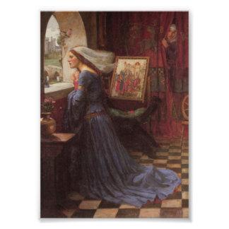 Fair Rosamund at the Window Photo Print