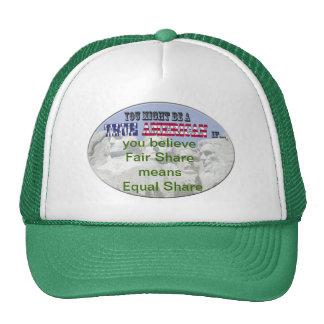 fair share = equal share trucker hat