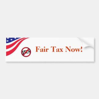 Fair Tax Now! Bumper Stickers