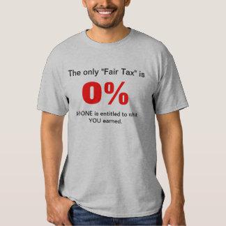 Fair Tax T Shirt