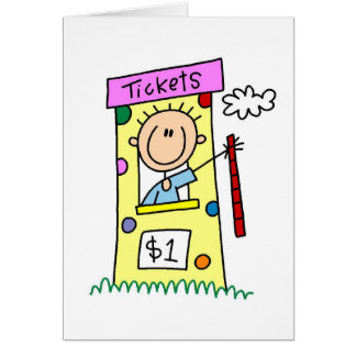 Fair Ticket Booth Tshirts and Gifts Card
