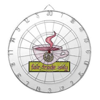 FAIR TRADE COFFEE DARTBOARDS