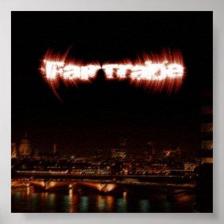 Fair Trade EP Album Art Poster