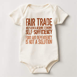 Fair Trade Message on Shirt for Activists