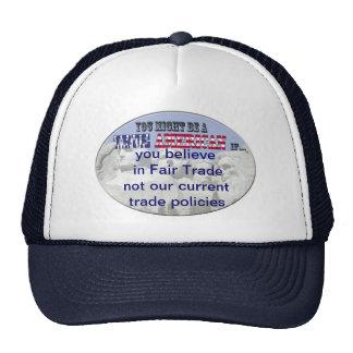 fair trade trucker hat