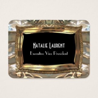 """Fair Vanity Professional Round 3.5"""" x 2.5"""" Business Card"""