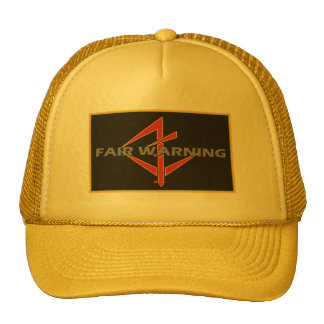 Fair Warning Hat