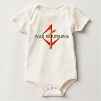 Fair Warning Infant T Baby Bodysuit