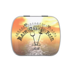 Fair Weather Vintage Barometer Candy Tin at Zazzle