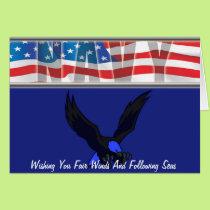 Fair Winds and Followign Seas Card