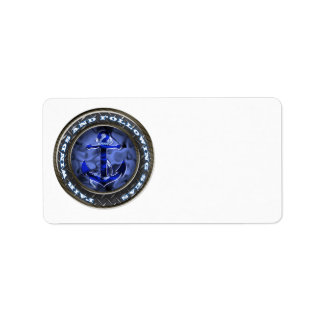 Fair winds and following seas anchor label