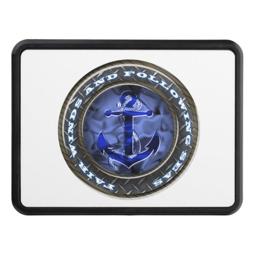 Fair winds and following seas anchor tow hitch cover